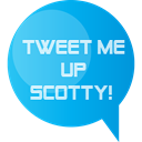 twitter, Scotty DeepSkyBlue icon