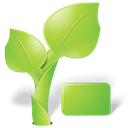 organic, plant, nature, Leaf YellowGreen icon