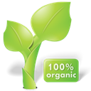 organic, Leaf, plant, nature YellowGreen icon