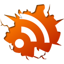 Rss, feed OrangeRed icon