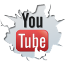 Ping show, Social, youtube Black icon