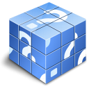 Check in CornflowerBlue icon