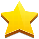Favorites, star Gold icon