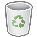 Empty, Bin WhiteSmoke icon