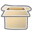 open, Box Wheat icon