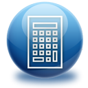 calculator MidnightBlue icon