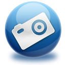 Camera, images, photo MidnightBlue icon