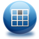 Top, Center MidnightBlue icon