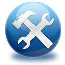 preferences, configuration, repair, settings, Options MidnightBlue icon