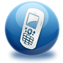 phone, Communication, Call, Mobile MidnightBlue icon