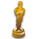 Oscar, statuette Black icon