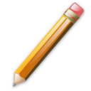 Pen, write Black icon