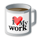 work Black icon