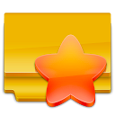 Favorites Orange icon