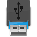 Usb DarkSlateGray icon