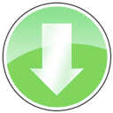 download, Arrow Lime icon