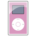 mini, ipod, pink PaleVioletRed icon