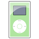 mini, ipod, green LightGreen icon