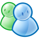 friends, Users, people, Messenger, group, Msn SkyBlue icon