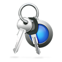 Access, password, car keys, keychain, Keys Black icon