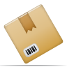 Box, inventory, product BurlyWood icon