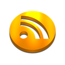 Rss, feed Black icon