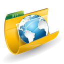 Folder, planet, web, world, internet, global, earth, Browser, international, globe Black icon