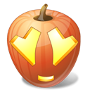 halloween, jack o lantern, Adore, pumpkin Black icon