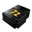 7zip Black icon