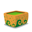 Folder, poison, mud Goldenrod icon