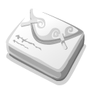 unknown, Letter WhiteSmoke icon