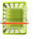 webshop, shopping basket, ecommerce OliveDrab icon