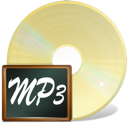 Fichiers, mp3 PaleGoldenrod icon