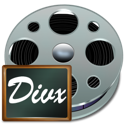 Fichiers, Divx DarkGray icon