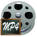 Fichiers, Mp4 DarkGray icon