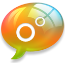 talk, Buble, Chat Black icon