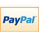 paypal, straight Bisque icon