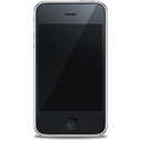 iphone 3g, 3g, Front, Iphone, Apple Black icon
