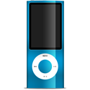 Blue, ipod, nano DarkCyan icon