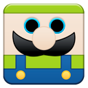 luigi, mario YellowGreen icon
