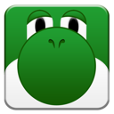 yoshi, squared ForestGreen icon