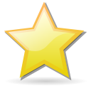 bookmark, Favorite, star Gold icon
