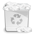 Edittrash WhiteSmoke icon