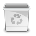Emptytrash WhiteSmoke icon