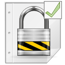 Pgp, Encrypted, mime, Gnome WhiteSmoke icon