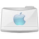 Folder, mac WhiteSmoke icon