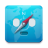 compass, safari MediumTurquoise icon