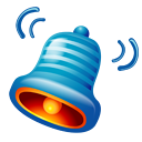 bell, ringtone Teal icon