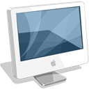 Computer, monitor, Imac, screen, Apple WhiteSmoke icon