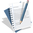 Edit, write, Text, Resume, document WhiteSmoke icon